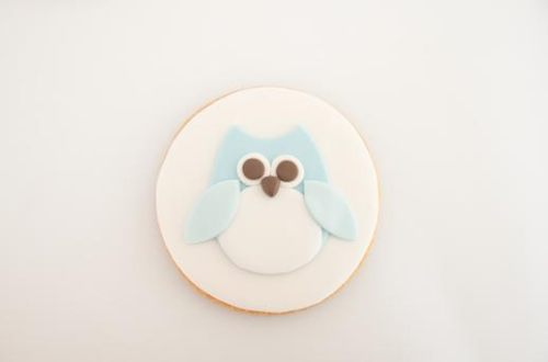 galletas decoradas con fondant de animalitos